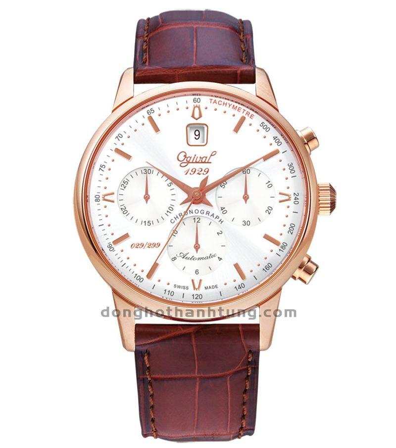 Đồng hồ Ogival OG1929-25AGR-GL-T