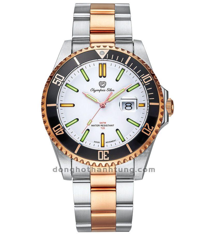 Đồng hồ Olympia Star OPA89983TGSR-T