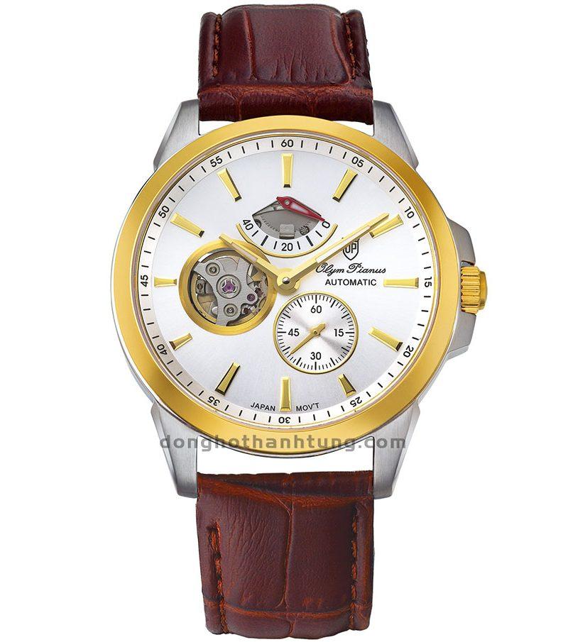 Đồng hồ Olym Pianus OP9908-88AGSK-GL-T