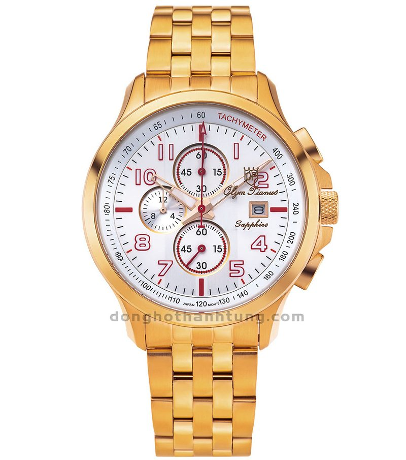 Đồng hồ Olym Pianus OP89022-3GR-T