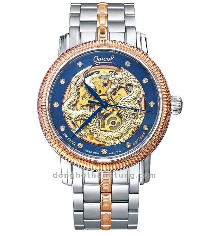 Đồng hồ Ogival OG358-18.65AG42SR-X