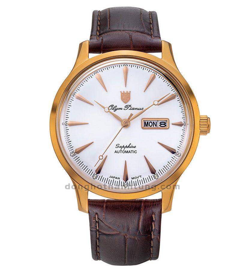 Đồng hồ Olym Pianus OP99141-56AGR-GL-T