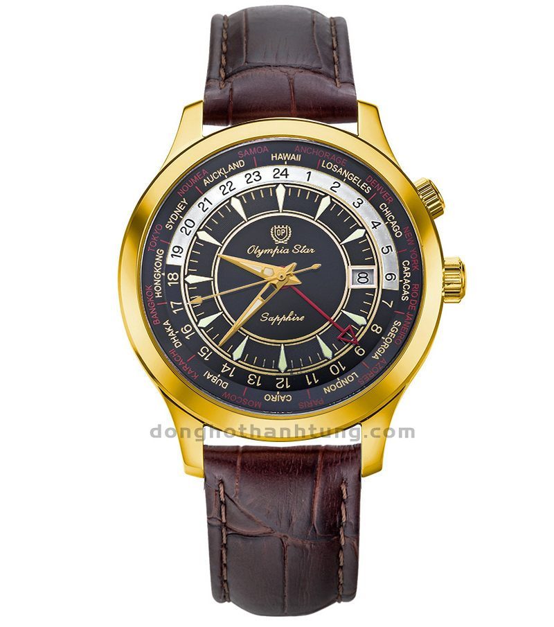 Đồng hồ Olympia Star OPA98027GK-GL-D