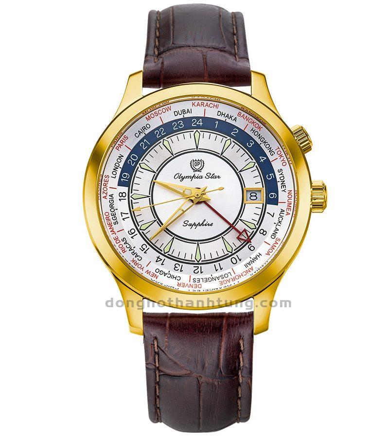Đồng hồ Olympia Star OPA98027GK-GL-T