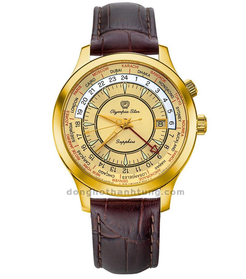 Đồng hồ Olympia Star OPA98027GK-GL-V