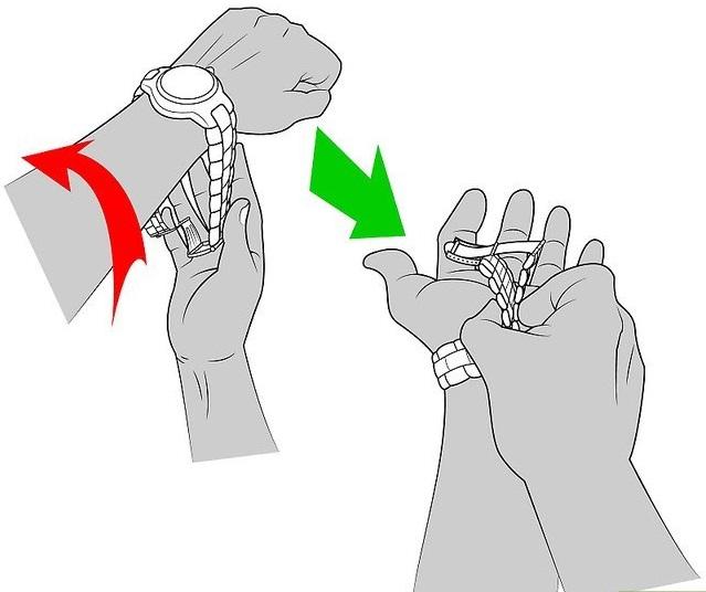 cách tháo chốt đồng hồ đeo tay 4