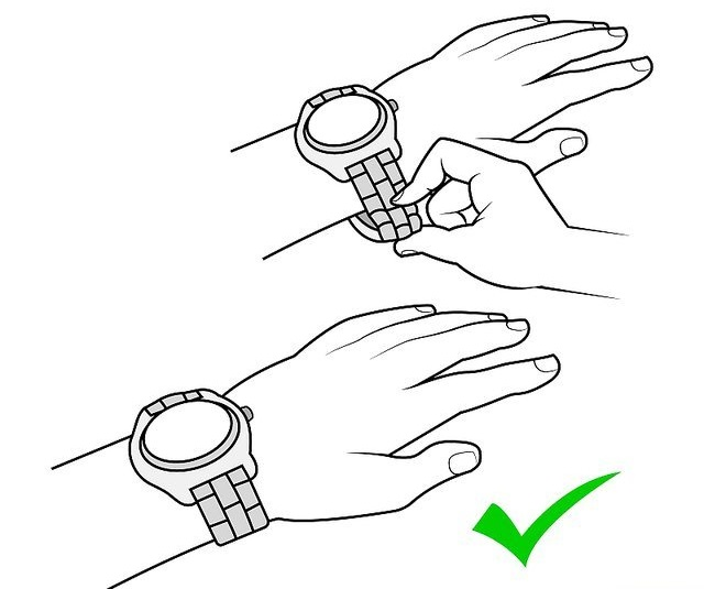 cách tháo chốt đồng hồ đeo tay 6