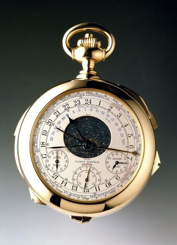 những đồng hồ mắc nhất thế giới Patek Philippe Calibre 89