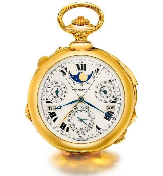 những đồng hồ mắc nhất thế giới Patek Philippe Henry Graves Supercomplication