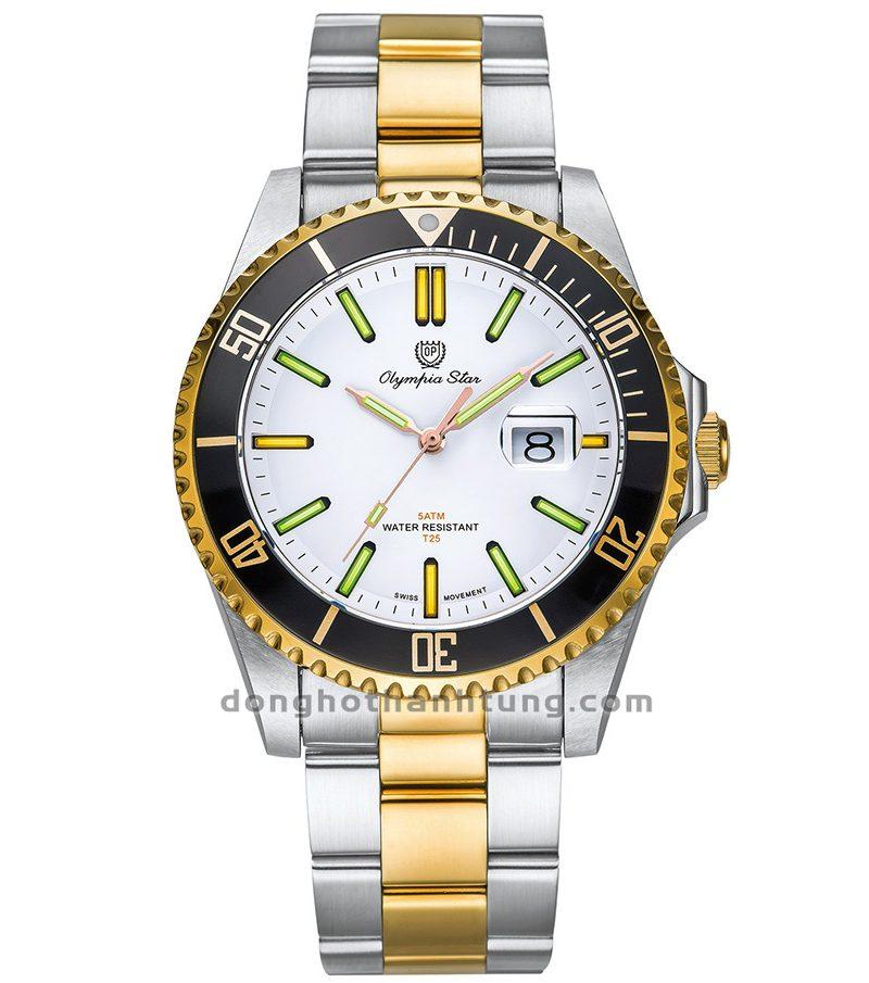 Đồng hồ Olympia Star OPA89983TGSK-T
