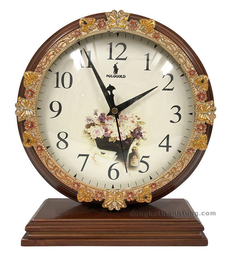 Đồng hồ để bàn Pologold POG211JB
