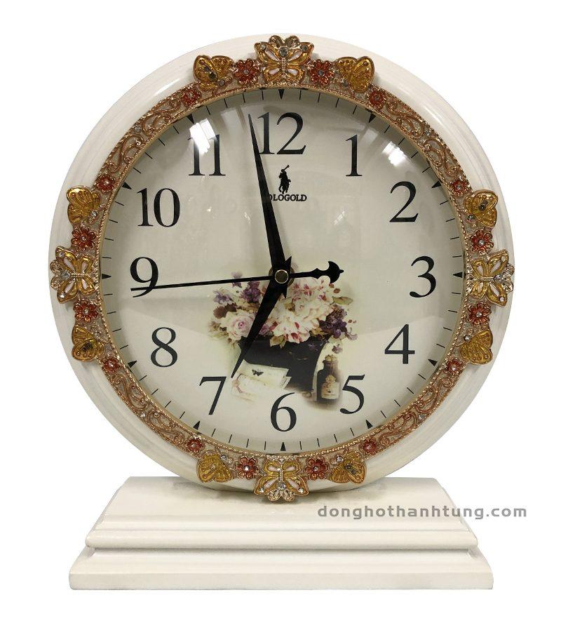 Đồng hồ để bàn Pologold POG211JW