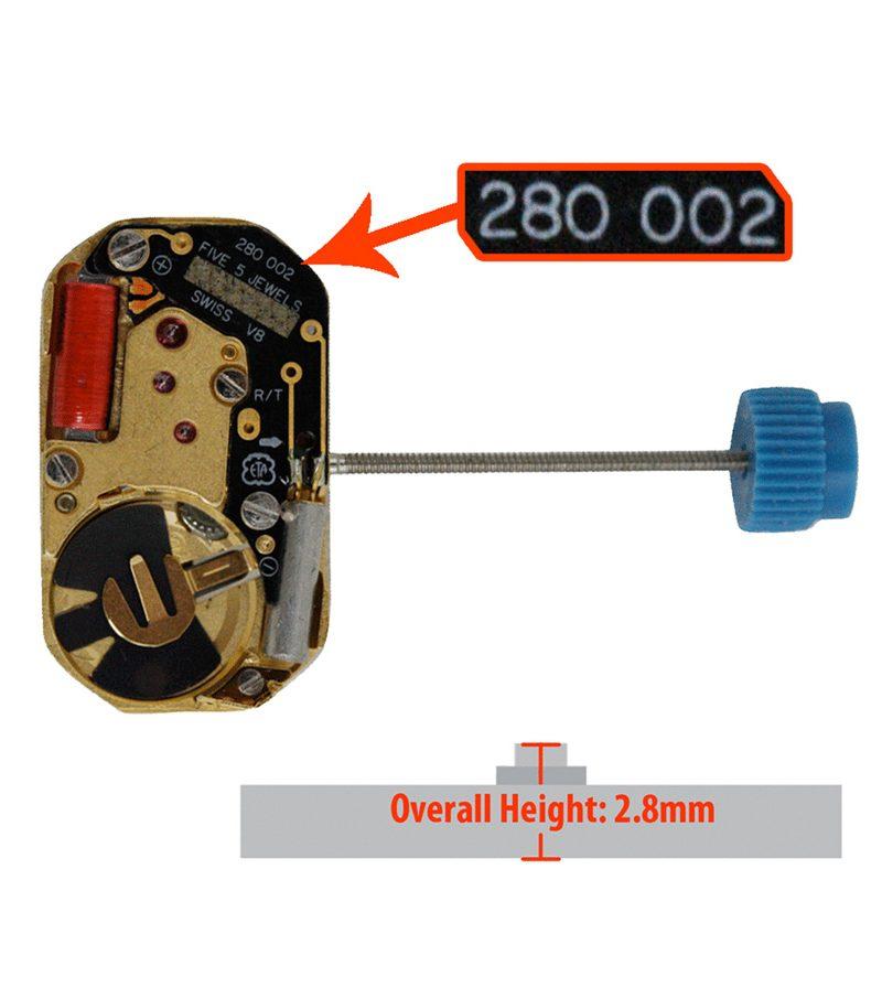 Máy đồng hồ ETA 280.002