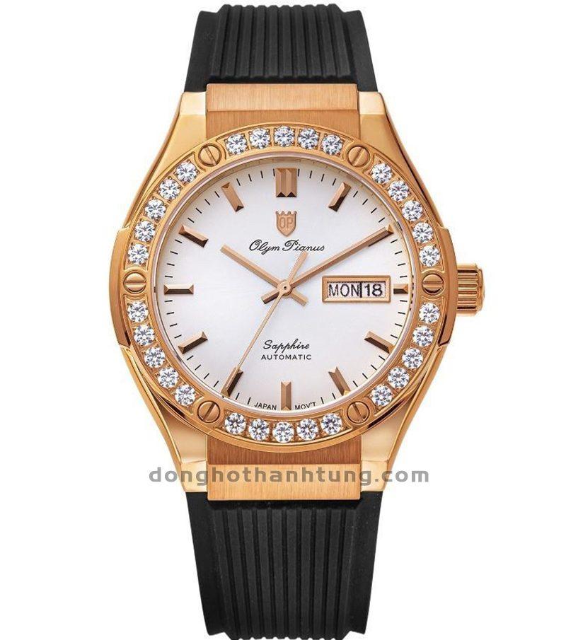 Đồng hồ Olym Pianus OP990-45ADGR-GL-T